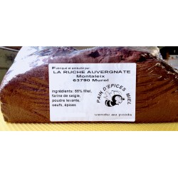 grand pain d'épices la Ruche Auvergnate