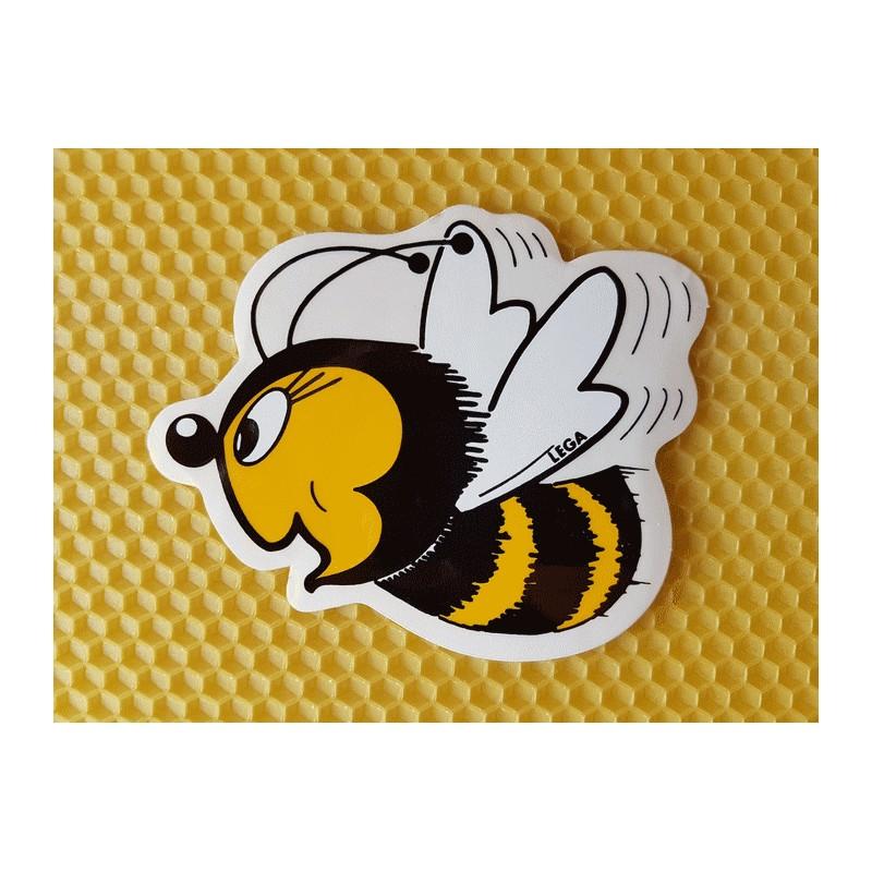 autocollant abeille